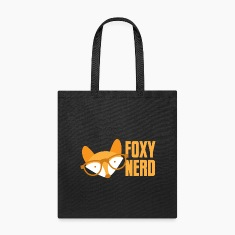 foxy nerd Bags & backpacks