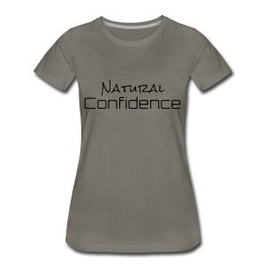 Natural Confidence Stone Tee - Women's Premium T-Shirt