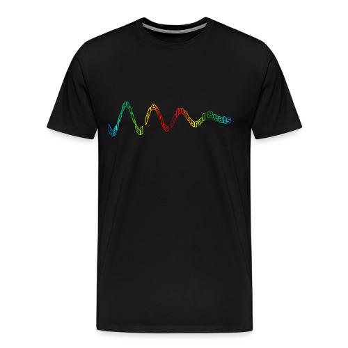 Binaural Beats Men T-Shirt 1 - Men's Premium T-Shirt