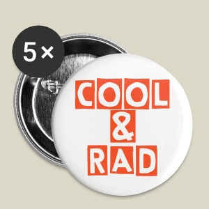 Cool & Rad Large Button Pin - Large Buttons