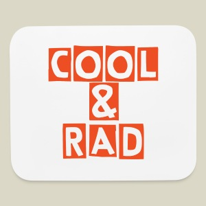 Cool & Rad Mouse Pad - Mouse pad Horizontal