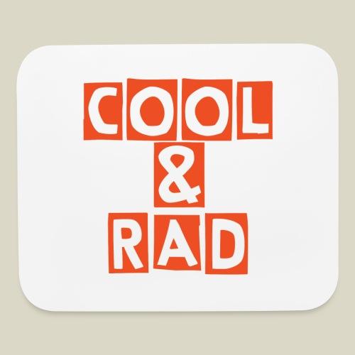 Cool & Rad Mouse Pad - Mouse pad Horizontal