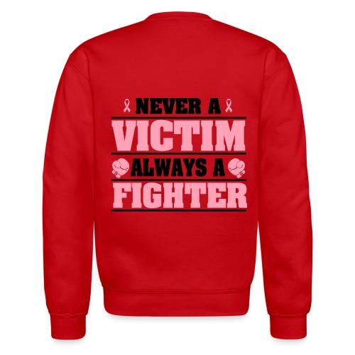 Breast Cancer Awareness Long Sleeve Shirt - Crewneck Sweatshirt