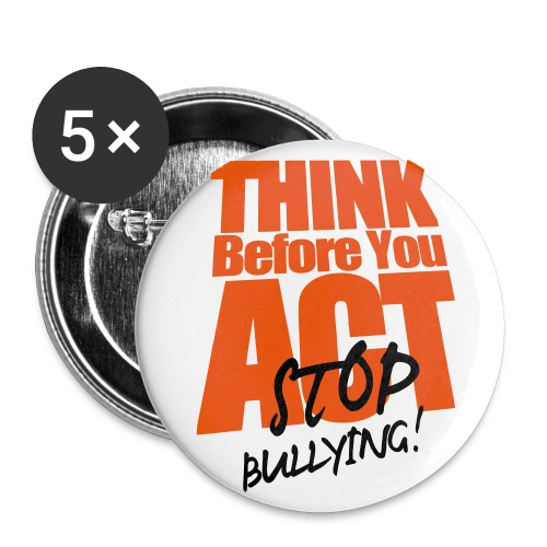 Stop Bullying Buttons - Large Buttons