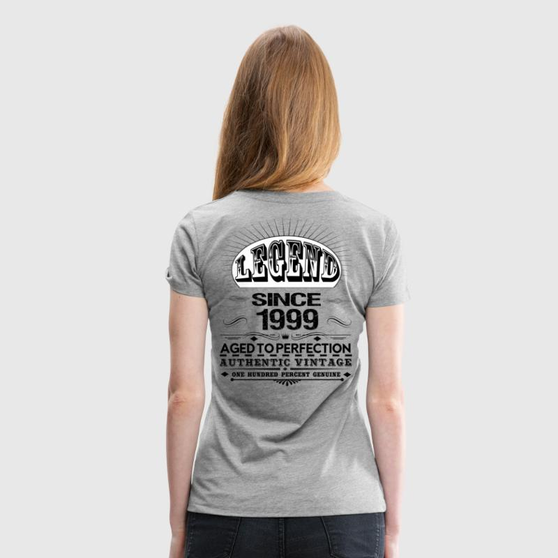 LEGEND SINCE 1999 Women's T-Shirts - Women's Premium T-Shirt