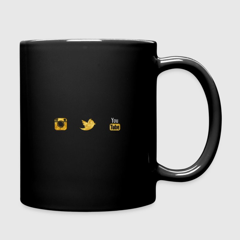 YouTube Gaming Gold Logo Mugs & Drinkware - Full Color Mug