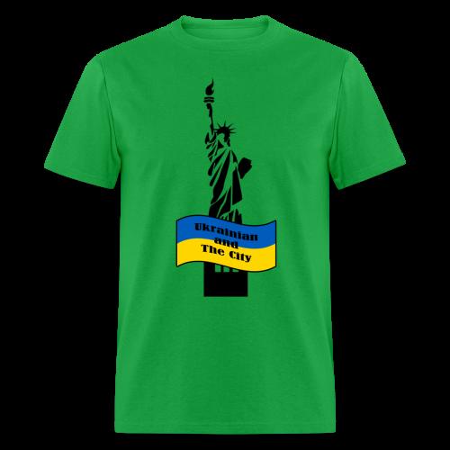 Ukrainian and The City - Men's T-Shirt