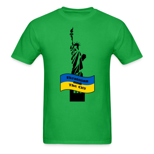 Ukrainian and The City - Men's T-Shirt
