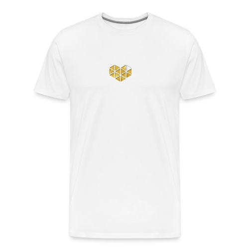 Mens Gold DeeMak T-shirt  - Men's Premium T-Shirt