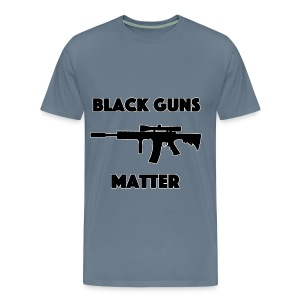 Black guns matter - Men's Premium T-Shirt