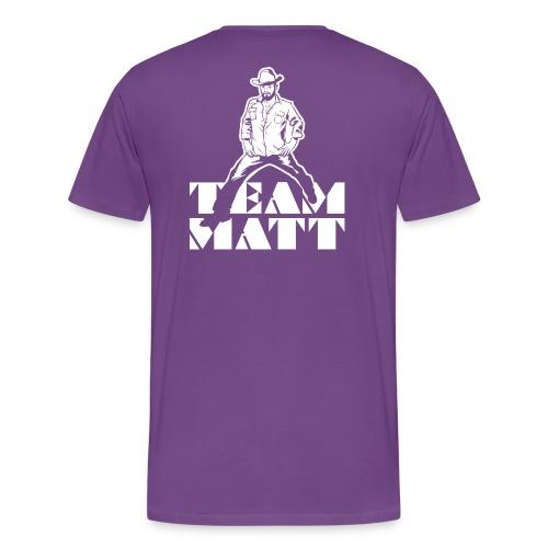 Team Matt (Men's) - Men's Premium T-Shirt