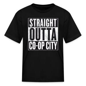 Straight Outta Co-op City T-Shirt - Kids' T-Shirt