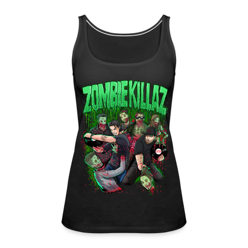 ZK Kills Mainstream Women's Premium Tank Top - Women's Premium Tank Top