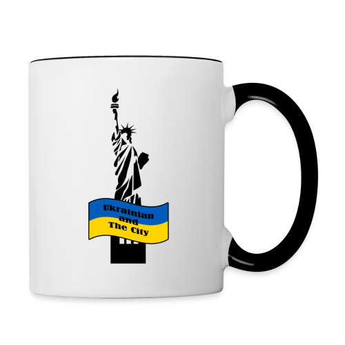 Ukrainian and The City - Contrast Coffee Mug
