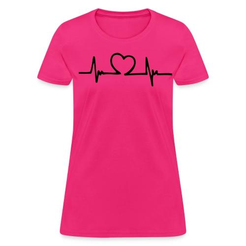 Heartbeat2 - Women's T-Shirt