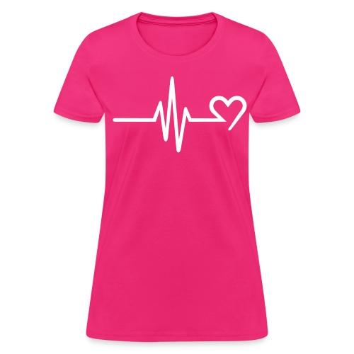 Heartbeat - Women's T-Shirt