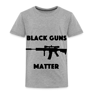 Black guns matter - Toddler Premium T-Shirt