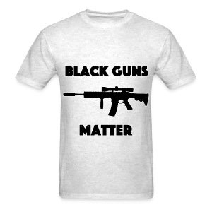 Black guns matter - Men's T-Shirt