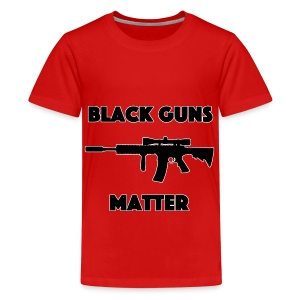 Black guns matter - Kids' Premium T-Shirt