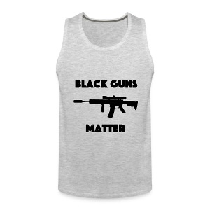 Black guns matter - Men's Premium Tank