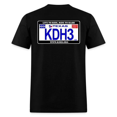 Original KDH3 Plate Shirt - Men's T-Shirt