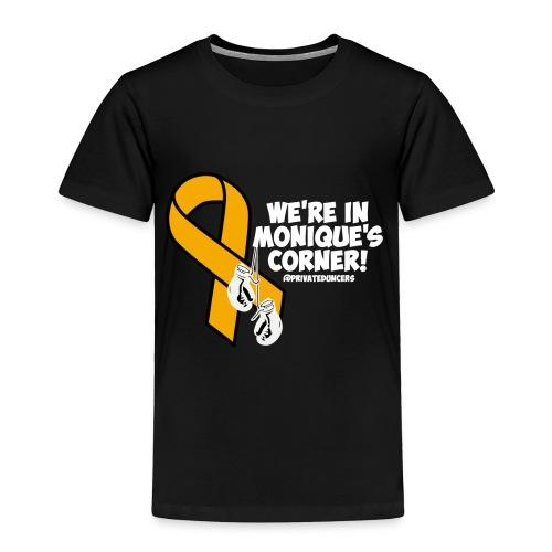In Monique's Corner Toddler Shirt - Toddler Premium T-Shirt