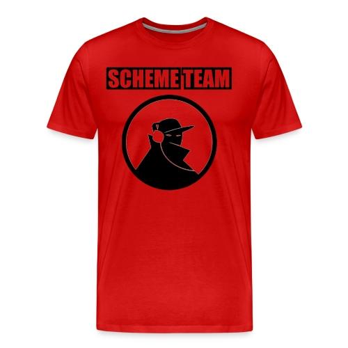 SchemeTeam   Neighborhood Creep   Black Print - Men's Premium T-Shirt