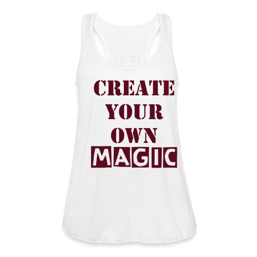 Positive Vibes for you  - Women's Flowy Tank Top by Bella