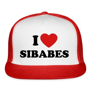 SIBABES Trucker Hat Red - Trucker Cap