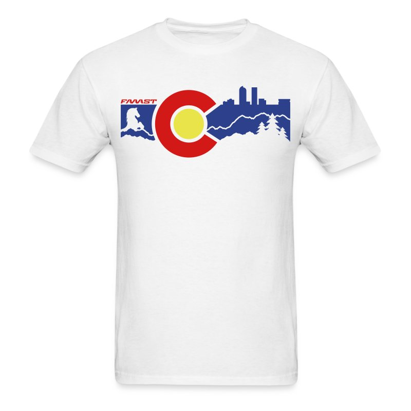 Men's Tee Denver Skyline - Men's T-Shirt