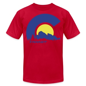 Men's AA Tee Red Rocks - Men's T-Shirt by American Apparel