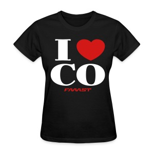 Women's Tee I Love CO - Women's T-Shirt