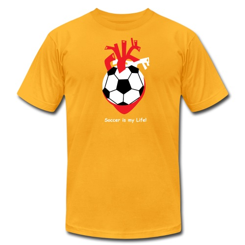 Soccer is my Life! - Men's Fine Jersey T-Shirt
