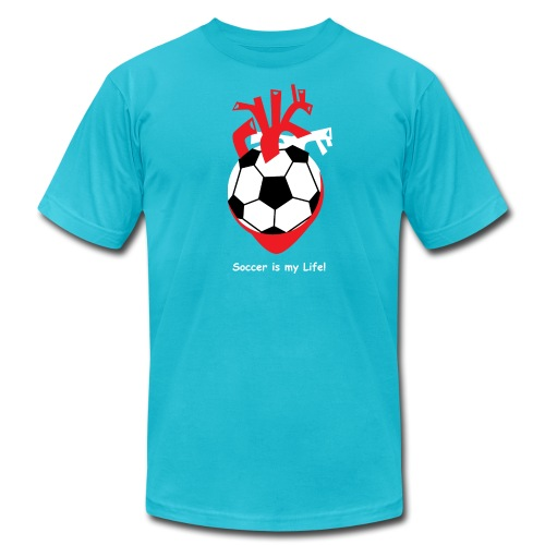 Soccer is my Life! - Men's  Jersey T-Shirt