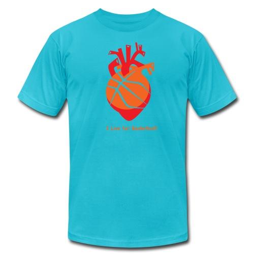 I live for Basketball! - Men's  Jersey T-Shirt