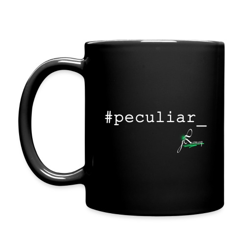 #Peculiar_ Mug - Full Color Mug