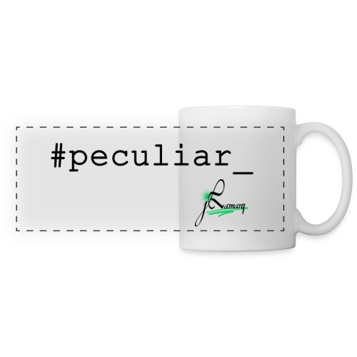 #Peculiar_ Mug (White) - Panoramic Mug