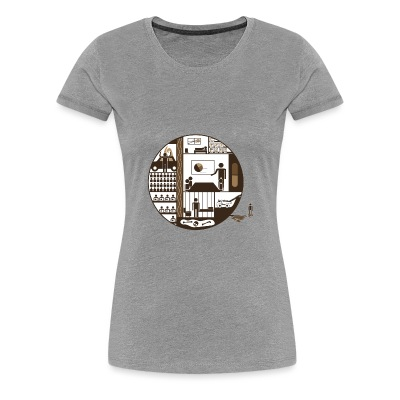 Ernst Jünger Womans Shirt - Women's Premium T-Shirt