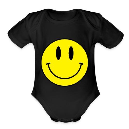 1.003 - Organic Short Sleeve Baby Bodysuit