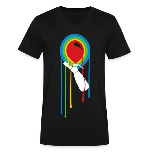 WOMP Original - Men's V-Neck T-Shirt by Canvas