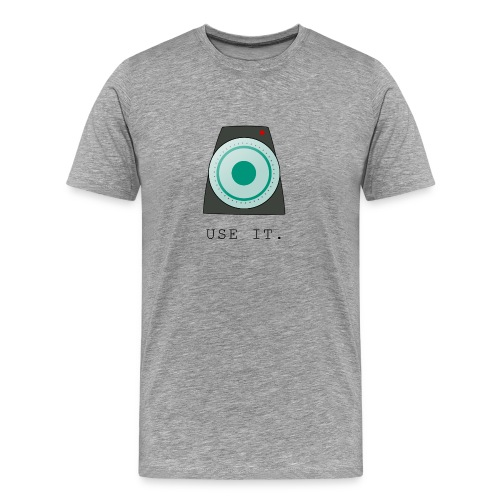 Metronome - Use it! - Men's Premium T-Shirt