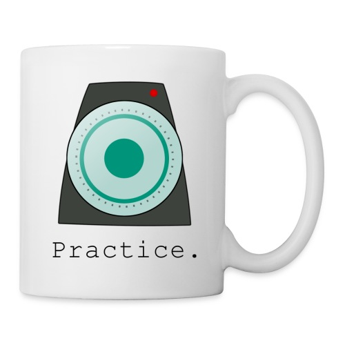 Metronome - Practice Motivational Mug - Coffee/Tea Mug