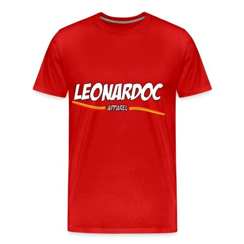 Leonardoc Apparel Red T-Shit - Men's Premium T-Shirt