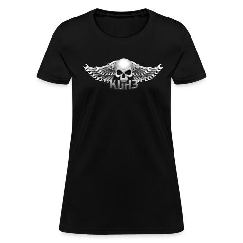 KDH3 Winged Skull (Harriettes) - Women's T-Shirt