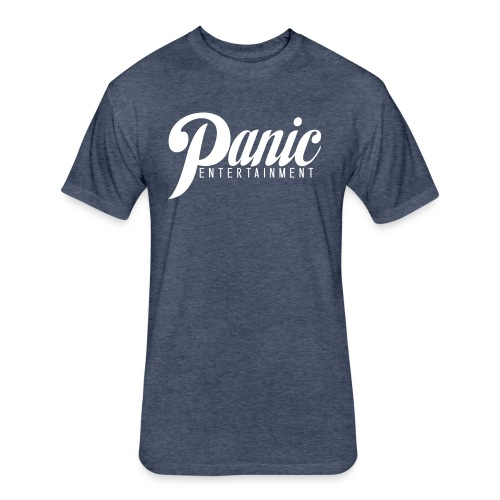 Panic Fitted Tee - Fitted Cotton/Poly T-Shirt by Next Level