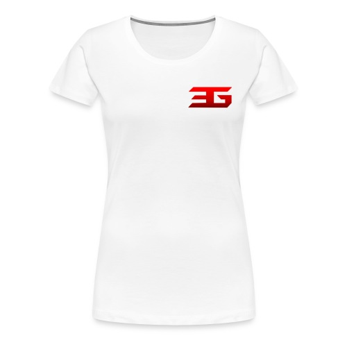 EaSt Womens White shirt - Women's Premium T-Shirt
