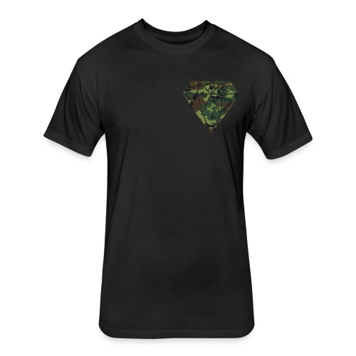 Diamond Bloody 23 T-Shirt - Fitted Cotton/Poly T-Shirt by Next Level