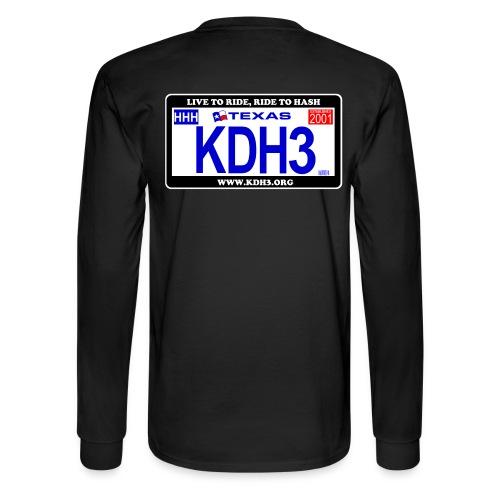 Original KDH3 Plate Shirt - Men's Long Sleeve T-Shirt