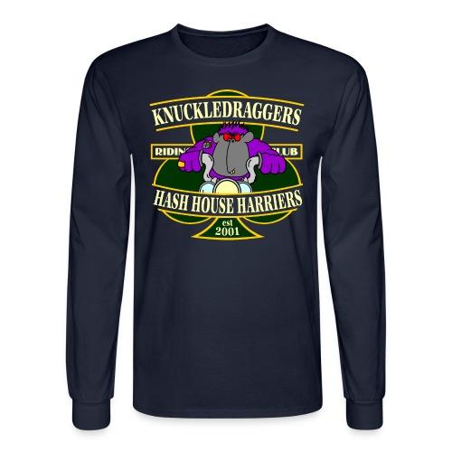 KDH3 Lucky Gorilla Rider - Men's Long Sleeve T-Shirt