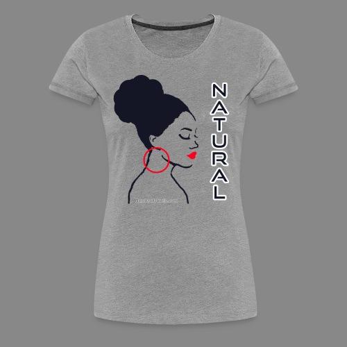 Natural Bun (Premium) - Women's Premium T-Shirt